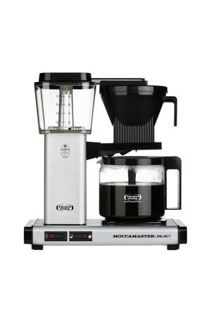KBG Select koffiezetapparaat (mat zilver)