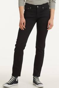 GAP straight fit jeans zwart, Zwart