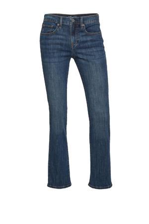 low waist straight fit jeans ASTOR dark denim