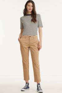 GAP cropped tapered fit chino beige, Beige