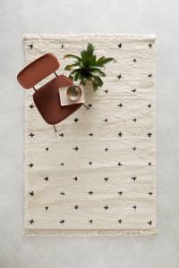 Wehkamp Home vloerkleed  (230x160 cm), Cream/black
