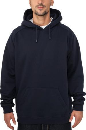 hoodie Blank donkerblauw