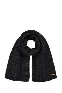 Barts sjaal Anemone antraciet, Antraciet