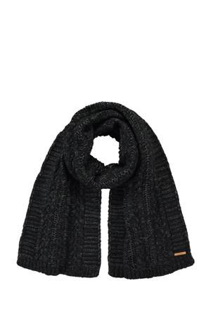 sjaal Anemone antraciet