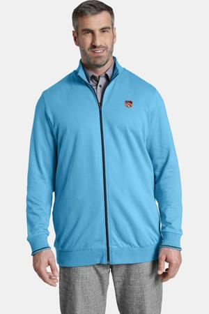 vest DUKE FLINT Plus Size met logo blauw