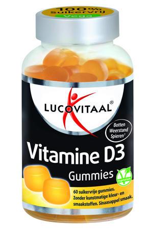 D3 Vitamine Gummies - 60 gummies