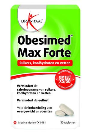 Obesimed Max Forte - 30 tabletten