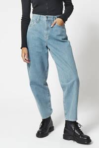 America Today high waist loose fit jeans denim blue, Denim blue