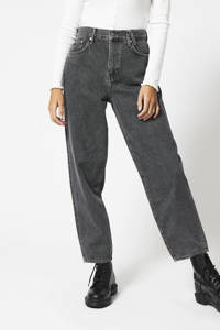 America Today high waist loose fit jeans dark grey 2, Dark grey 2