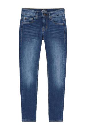 slim fit jeans donkerblauw
