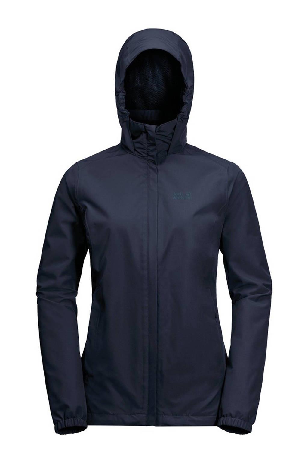 Jack Wolfskin outdoor jas donkerblauw, Midnight-Blue