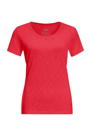 outdoor T-shirt rood