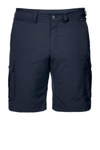 Jack Wolfskin outdoor short Canyon Cargo donkerblauw, Night-Blue
