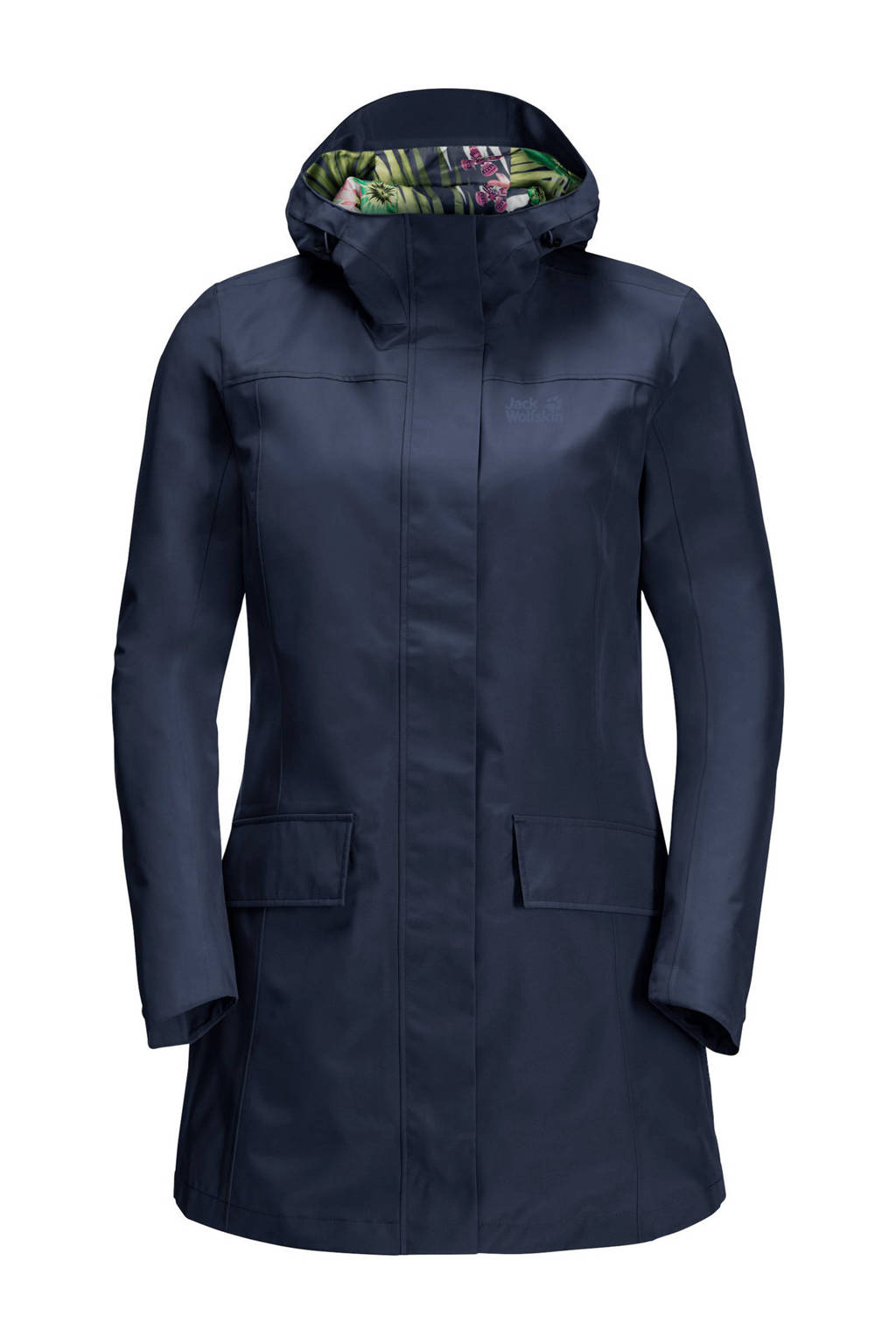 Jack Wolfskin outdoor jas donkerblauw, Midnight-Blue
