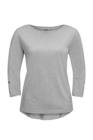 outdoor T-shirt grijs