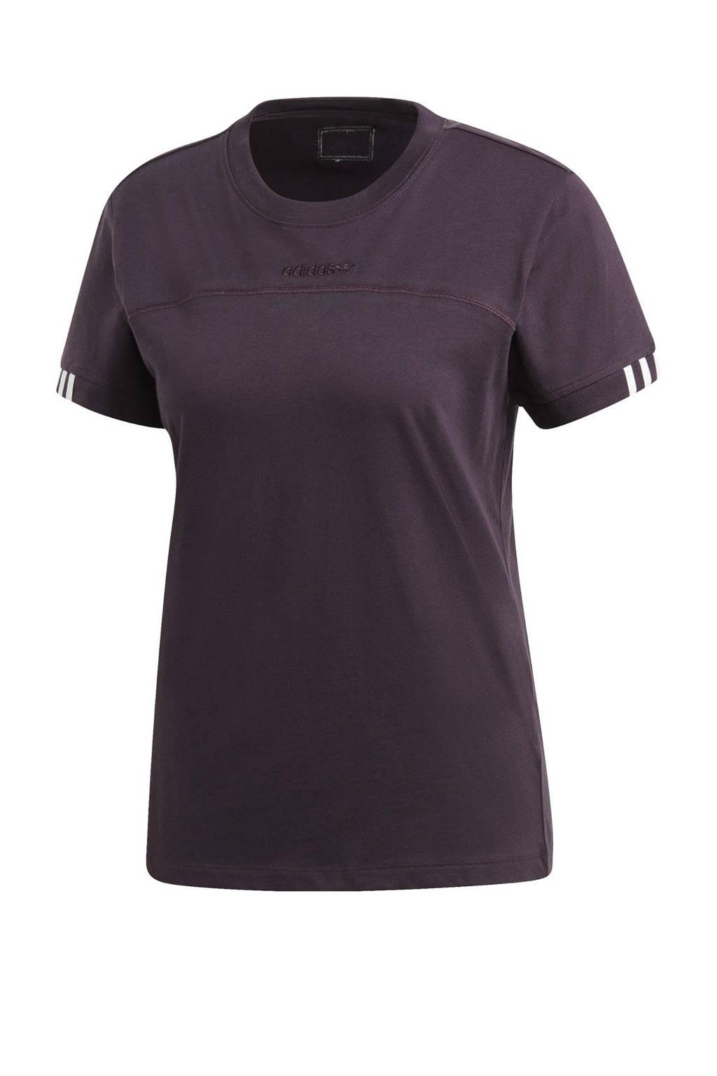 adidas Originals T-shirt donkerpaars, Donkerpaars