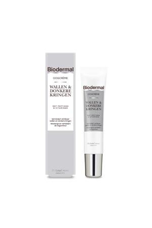 Biodermal Oogcrème bij Wallen & Donkere Kringen 15 ml