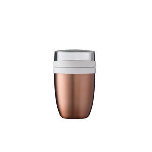 Ellipse lunchpot Isoleer Lunchpot Ellipse - rose gold