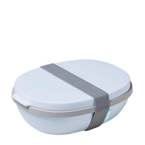 Ellipse lunchpot lunchbox Ellipse duo - nordic blue