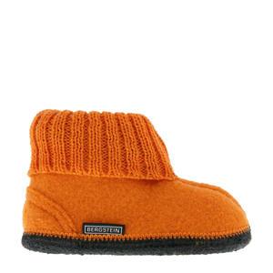Cozy pantoffel oranje kids