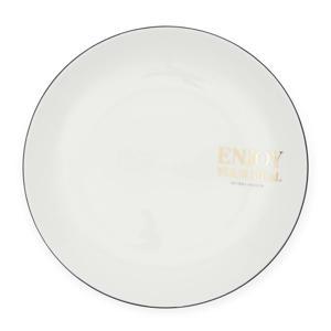 Enjoy Your Meal dinerbord (Ø26 cm)