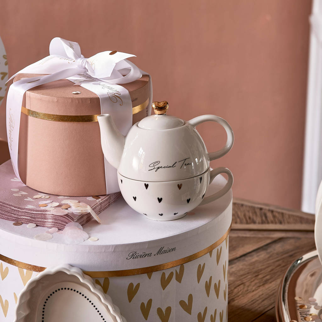 Riviera Maison Special theepot, Wit