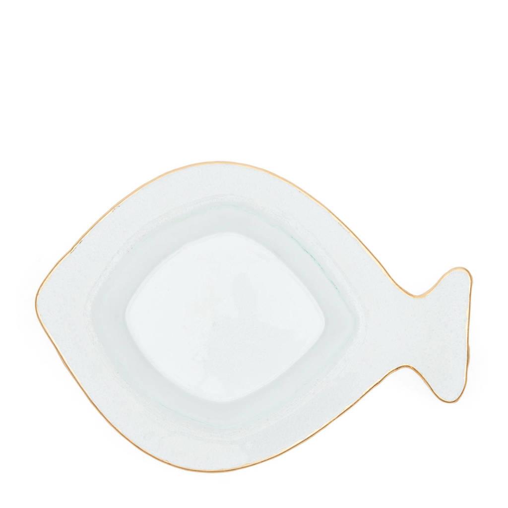 Riviera Maison Happy Fish kom (Ø11,5 cm), Transparant