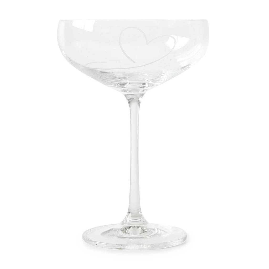 Riviera Maison With Love Champagneglas, Transparant