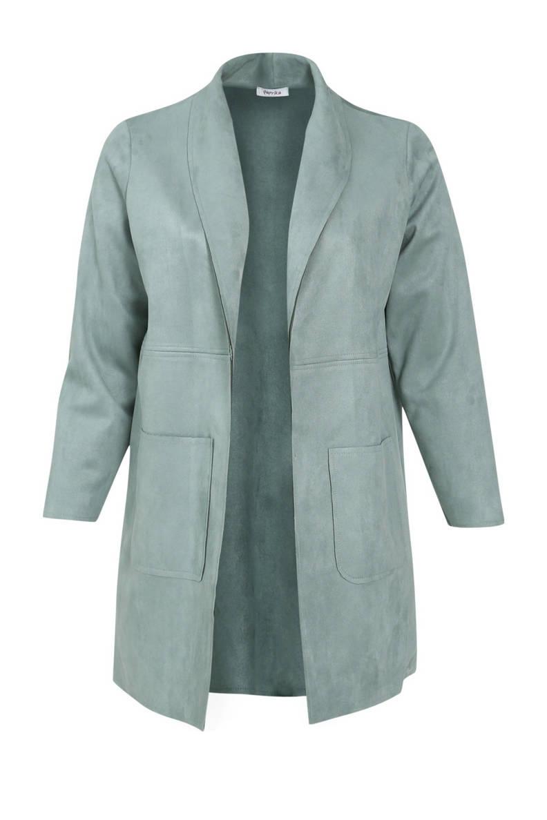 coat lichtblauw