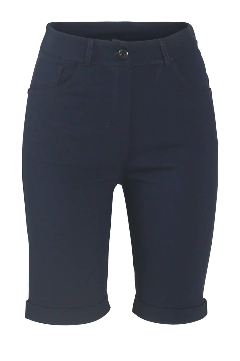 Cassis slim fit short marine, Marine