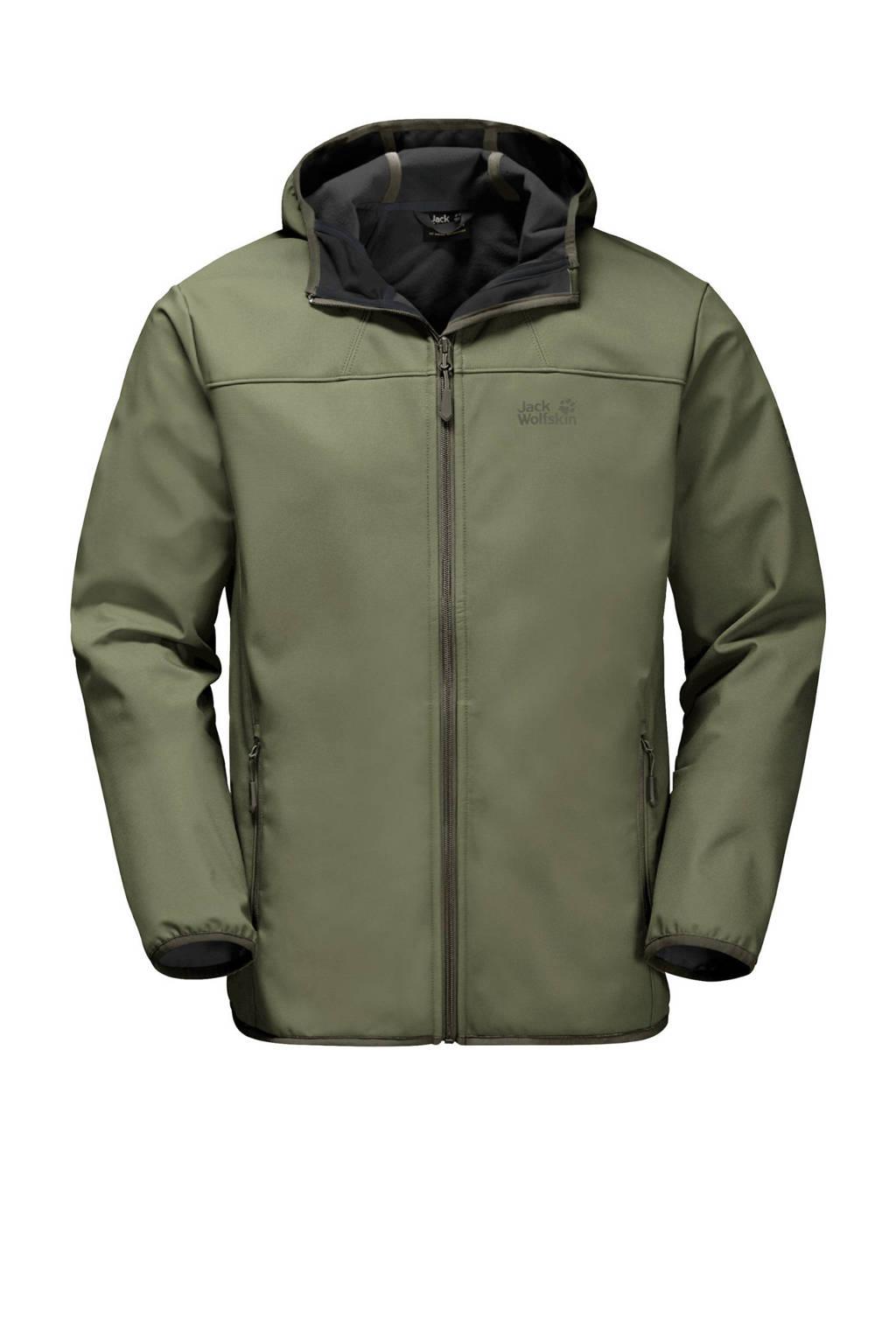 Jack Wolfskin outdoor jas donkergroen, Light-Moss