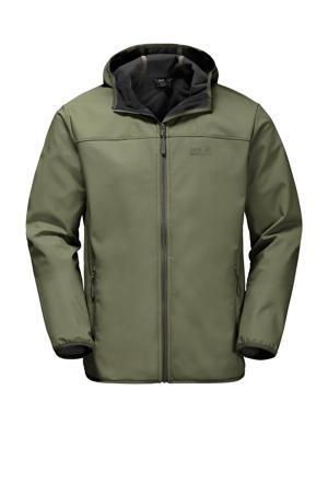 outdoor jas donkergroen