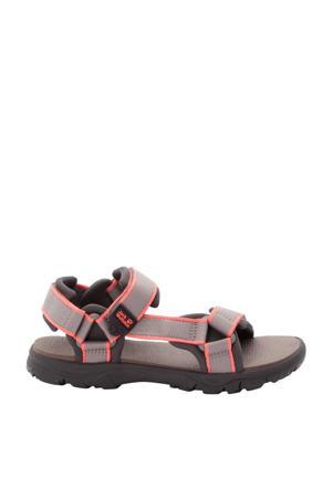 Seven Seas 3  sandalen beige/roze kids