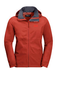 Jack Wolfskin outdoor jas rood, Mexican-Pepper