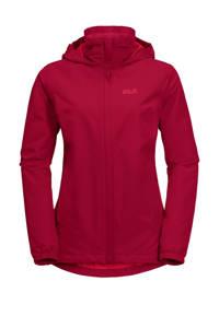 Jack Wolfskin outdoor jas rood, Scarlet