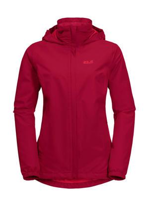 outdoor jas rood