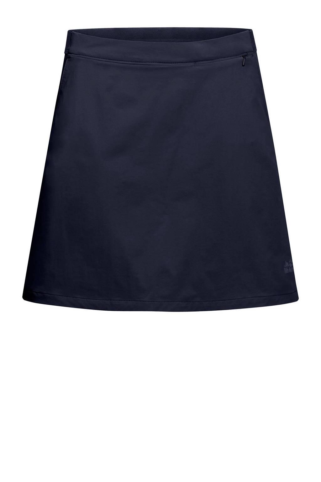 Jack Wolfskin outdoor rok donkerblauw, Midnight-Blue