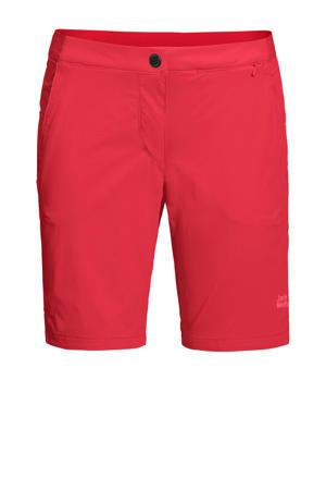 korte outdoor broek rood