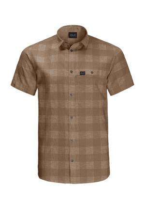 outdoor overhemd bruin