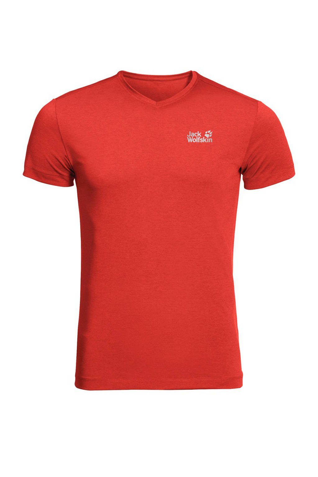 Jack Wolfskin outdoor T-shirt rood, Lava-Red