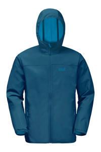 Jack Wolfskin outdoor jas blauw, Dark-Cobalt
