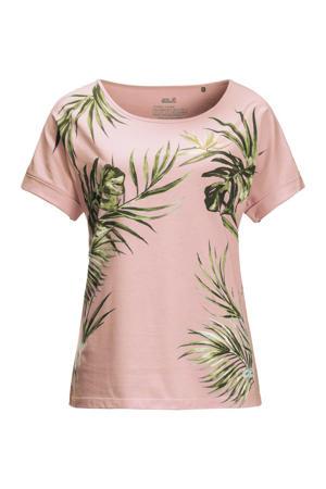 outdoor T-shirt roze