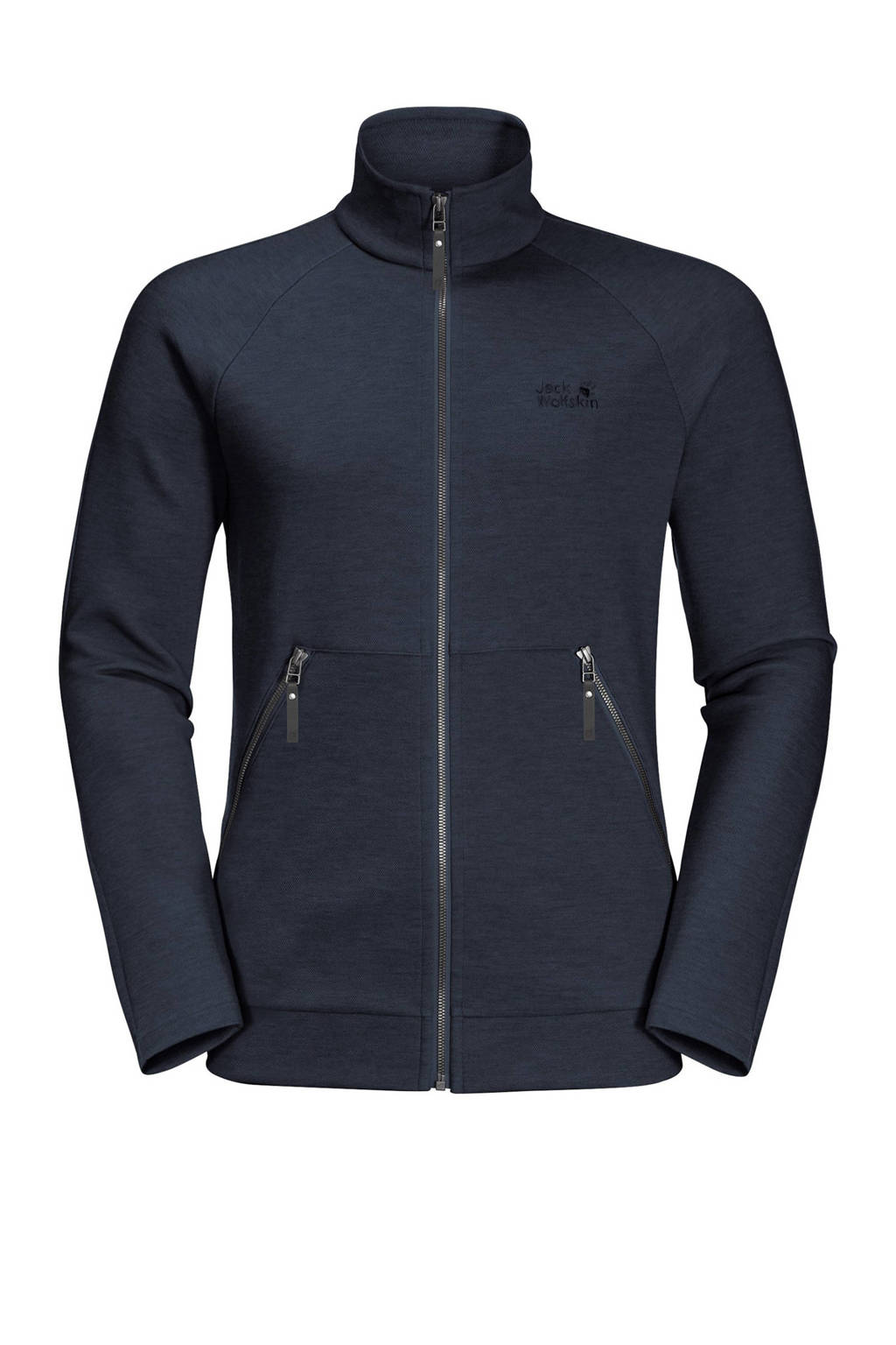 Jack Wolfskin outdoor jas donkerblauw, Night-Blue