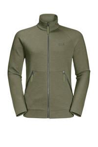 Jack Wolfskin outdoor vest groen, Light-Moss