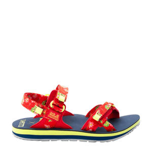 Outfresh DLX  outdoor sandalen rood/donkerblauw