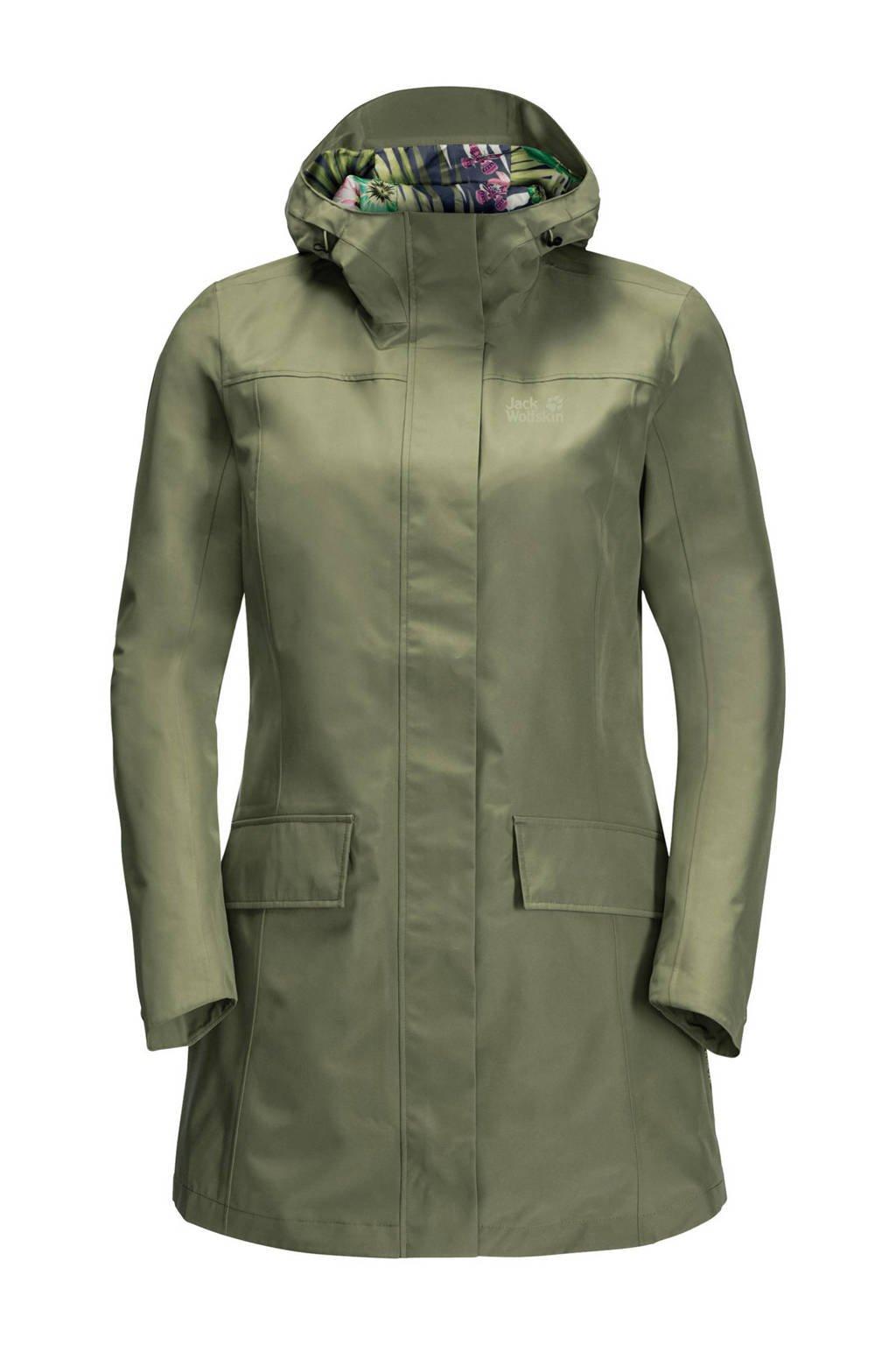 Jack Wolfskin outdoor jas groen, Light-Moss