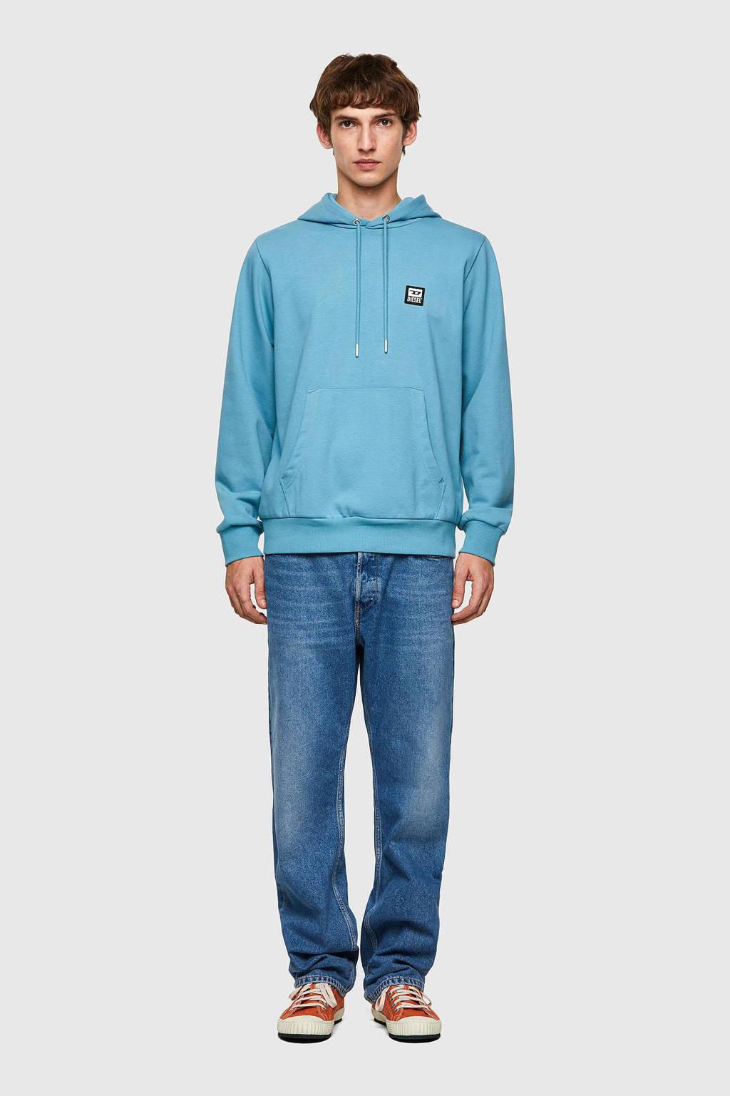 Diesel hoodie S-girk blauw, Blauw