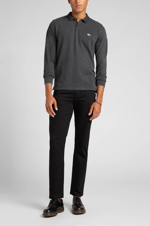 Lee straight fit jeans Brooklyn clean black, Clean black