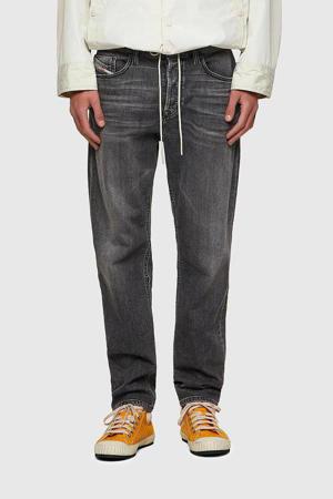 regular fit jeans D-Fining 02 black denim