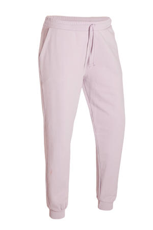 regular fit joggingbroek lichtroze